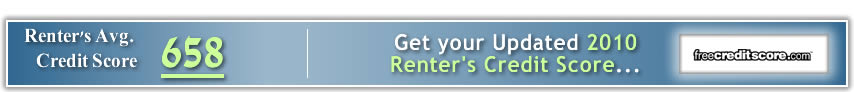 Free Credit Report for Renters