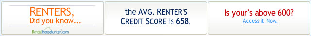 Renters, know your Credit Score now - FreeCreditReport.com