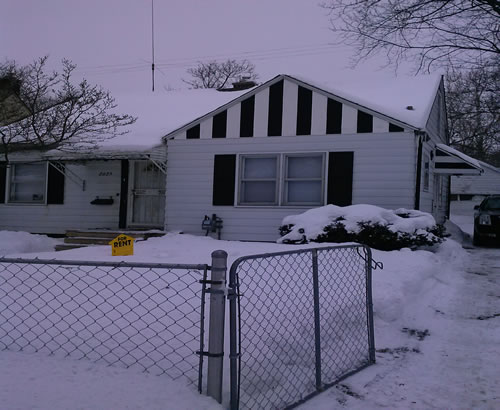 Photo: Flint House for Rent - $450.00 / month; 3 Bd & 1 Ba